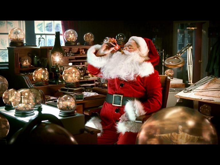 Imágenes de Papa Noel de coca cola